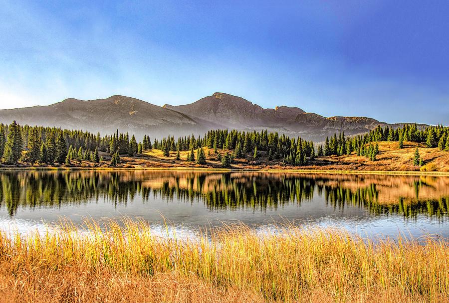 Fall Sunrise at Little Molas Lake by Gordon Ripley