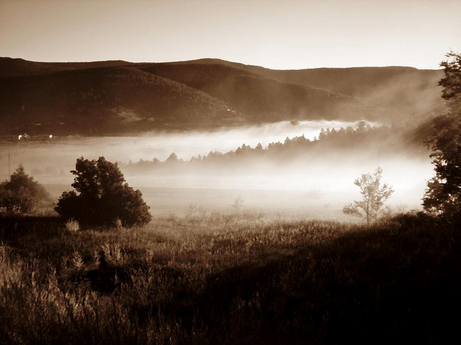 Photograph Photograph - Fall Sunrise In A New Mexico Valley by Scott Haley