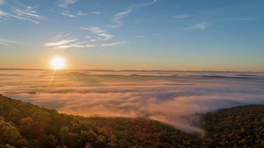 Fall Sunrise by Norman Peay
