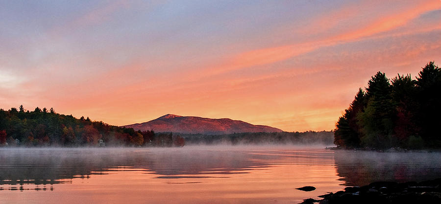 Fall Sunrise on Mount Monadnock by Gordon Ripley