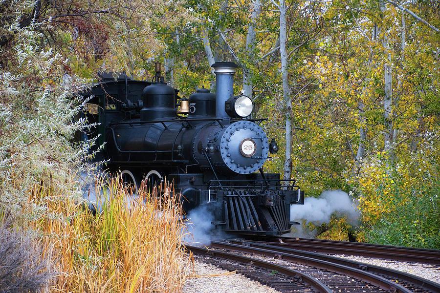 Fall Train by Steph Gabler