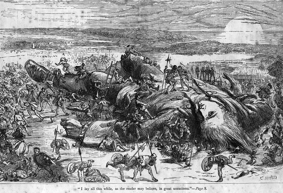 Fallen Giant Digital Art by Hulton Archive