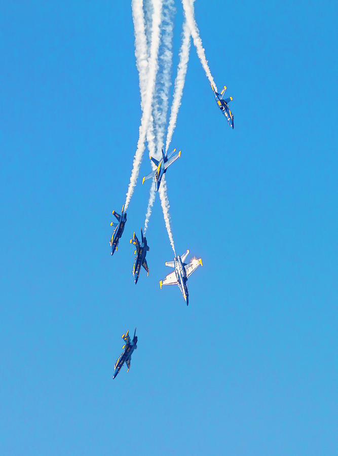 Falling Blue Angels by Bonnie Follett