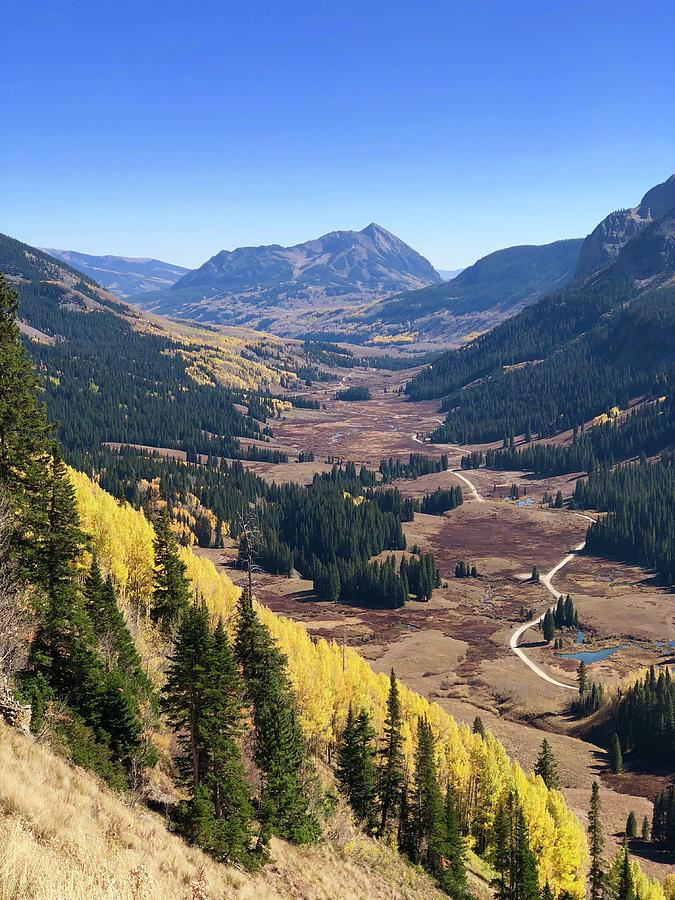 Crested Butte Photograph - Falling for the 401 by Lori J Welch