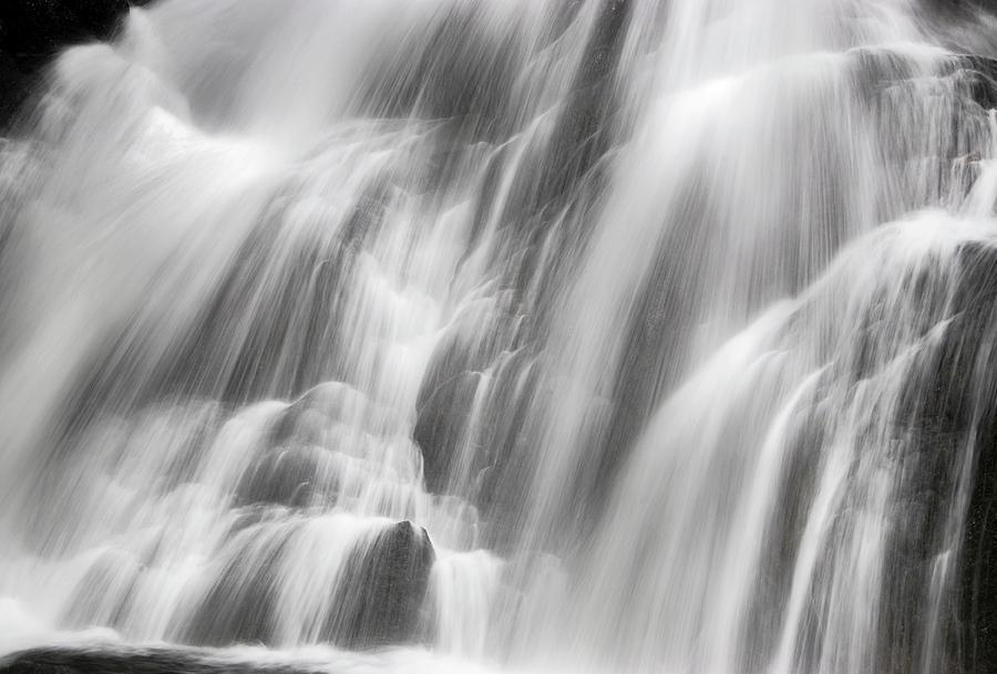 Falling Waters - Abbey Cascades by Gordon Ripley