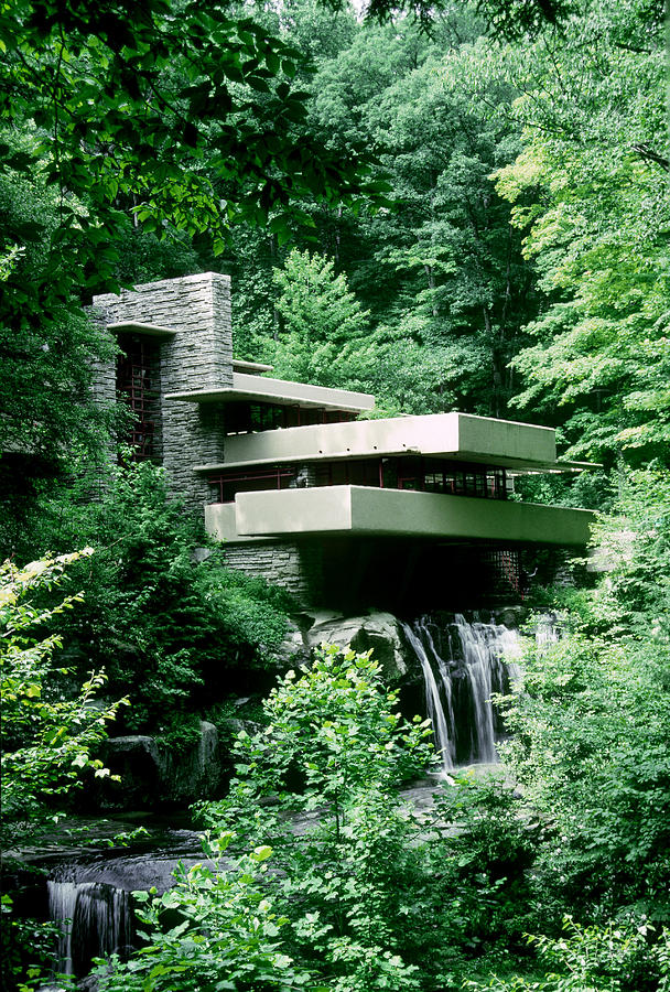 Outdoors Photograph - Fallingwater, In Rural Pennsylvania by Gregory K Scott