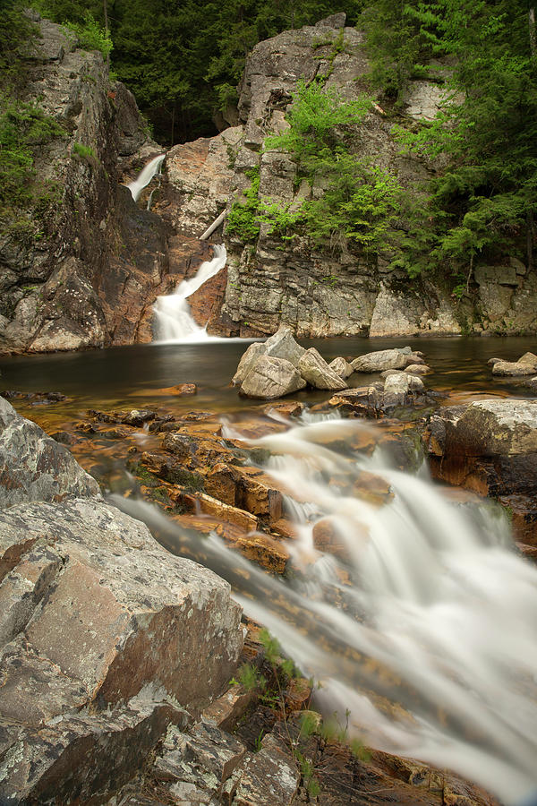 Falls of Lana, Vermont by Greg Parsons
