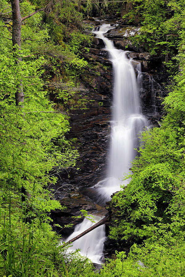 Falls of Moness in the Birks of Aberfeldy - Scotland - Perthshire by Jason Politte