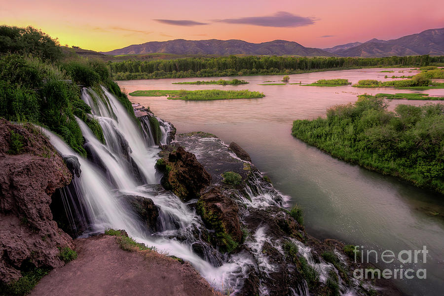 Falls on the River by Roxie Crouch