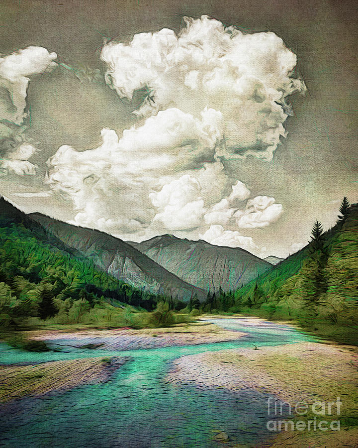 Falzthurntal by Edmund Nagele
