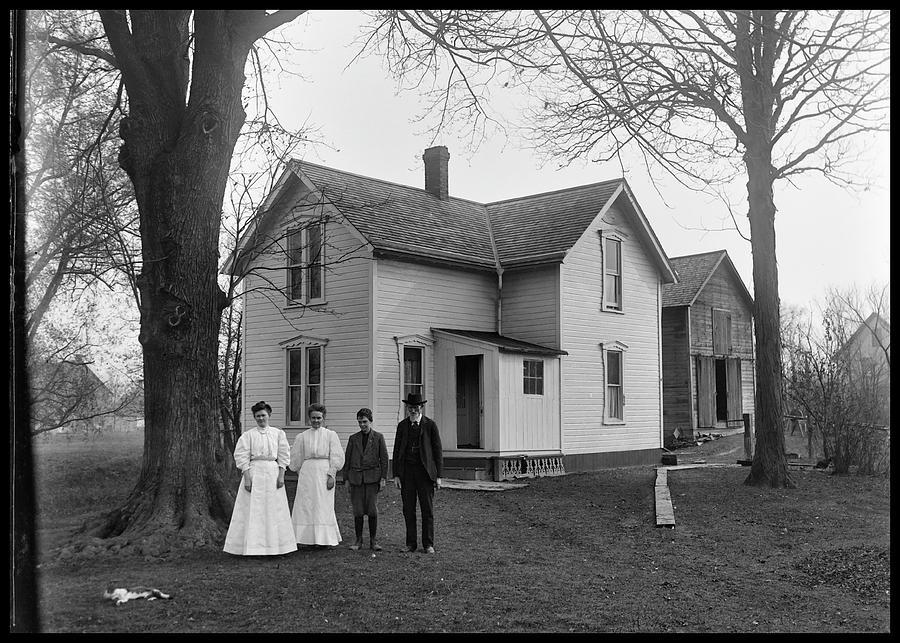 Family Farm early 1900's by Brian Duram