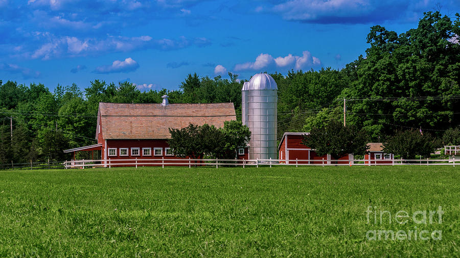 Family farm in Southern Vermont by Scenic Vermont Photography