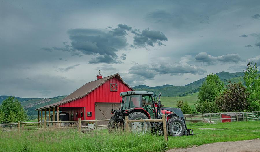 Family Farm by Marcy Wielfaert