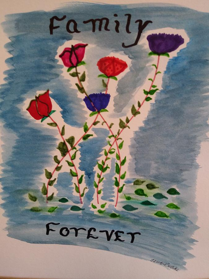 Family Forever by Tina Marie Gill