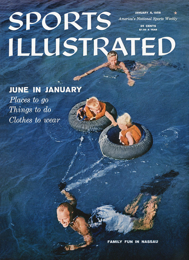 Family Fun In Nassau Sports Illustrated Cover Photograph by Sports Illustrated