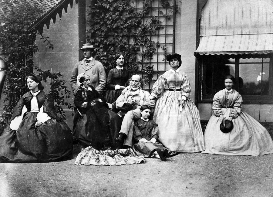 Family Portrait Photograph by Hulton Archive