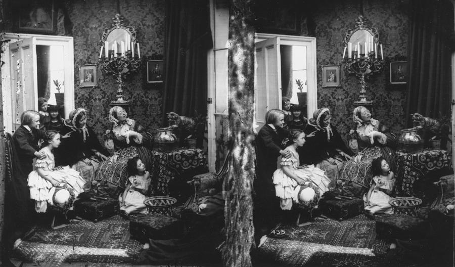 Family Scene Photograph by London Stereoscopic Company