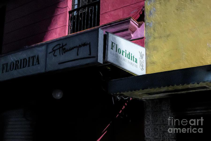 Famous Hemingway Cuban Bar by Stefan H Unger