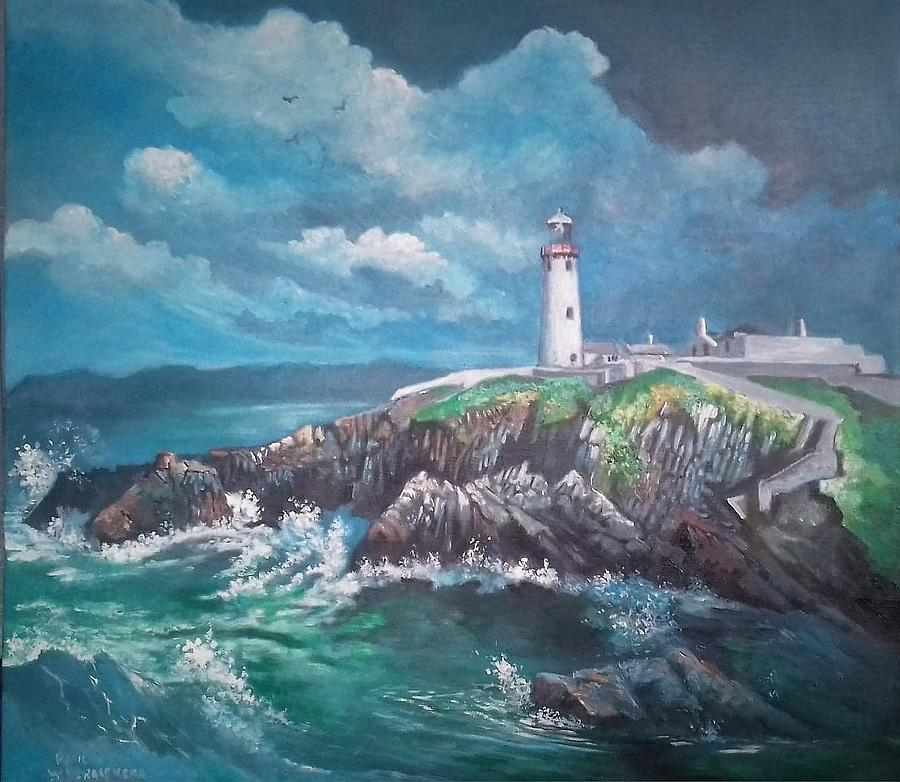 FANAD LIGHTHOUSE CO DONEGAL IRELAND by PAUL WEERASEKERA