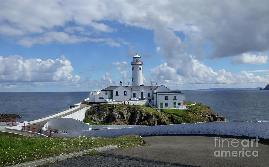 Fanad lighthouse Donegal by Peter Skelton