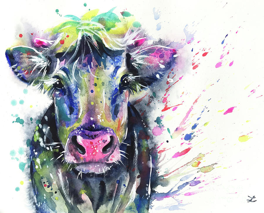 Fancy Cow by Zaira Dzhaubaeva