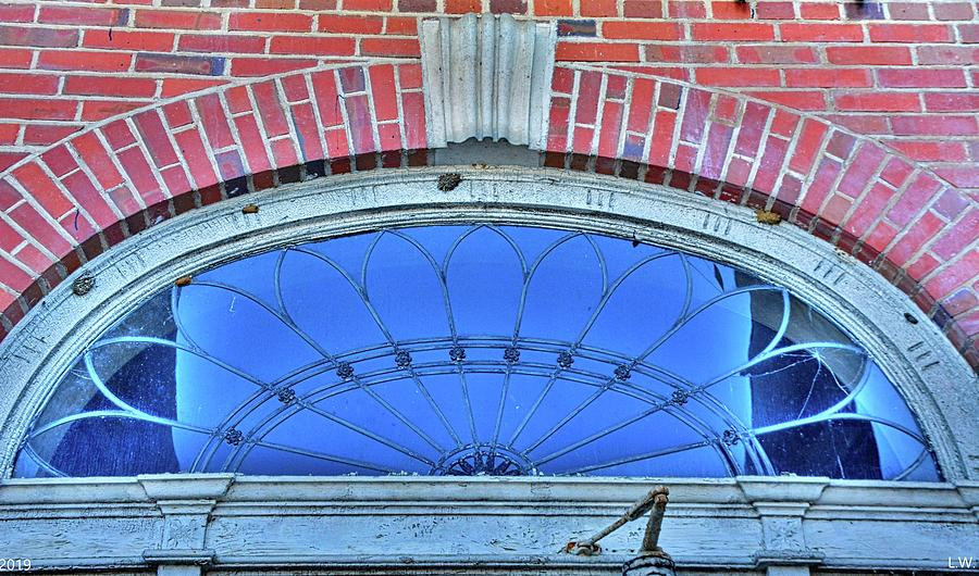 Fanlight Transom Window 2 by Lisa Wooten