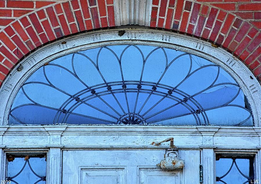 Fanlight Transom Window by Lisa Wooten