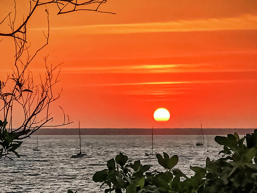 Fannie Bay Sunset by Tony Crehan