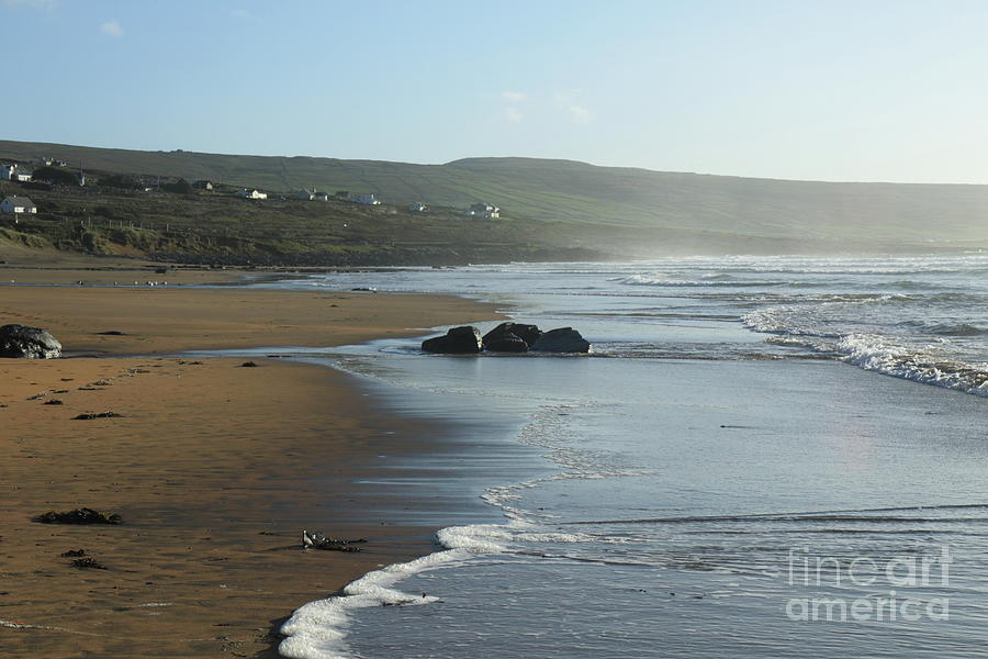 Fanore Beach Clare Photograph by Peter Skelton