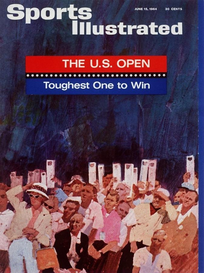 Fans, 1964 Us Open Sports Illustrated Cover Photograph by Sports Illustrated