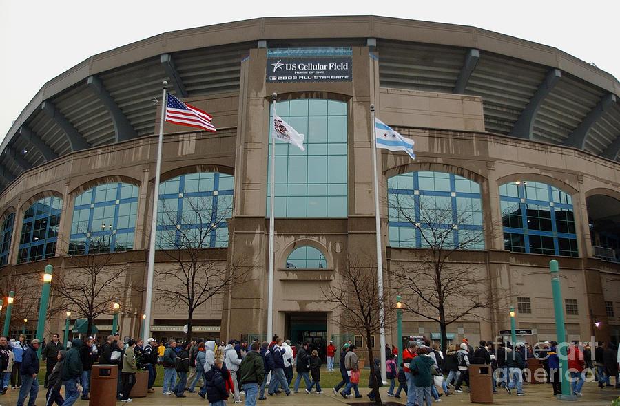 Fans Enter Ball Park Photograph by Jonathan Daniel