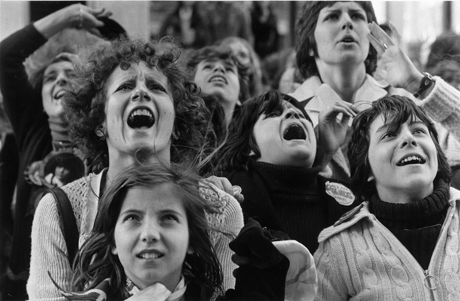 Music Photograph - Fans Of Osmonds by Chris Djukanovic