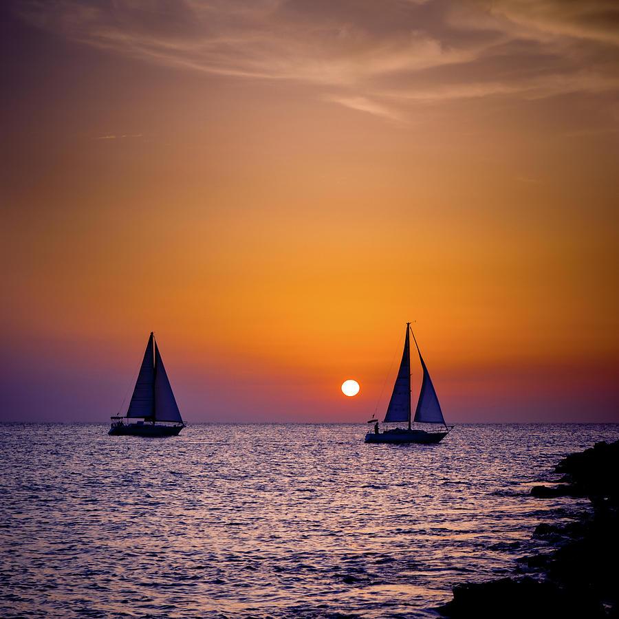 Fantastic Sunset Photograph by Kertlis