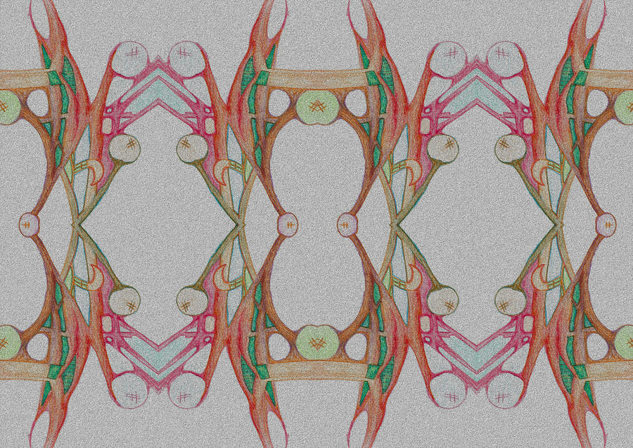 Fantasy Color Pattern Drawing