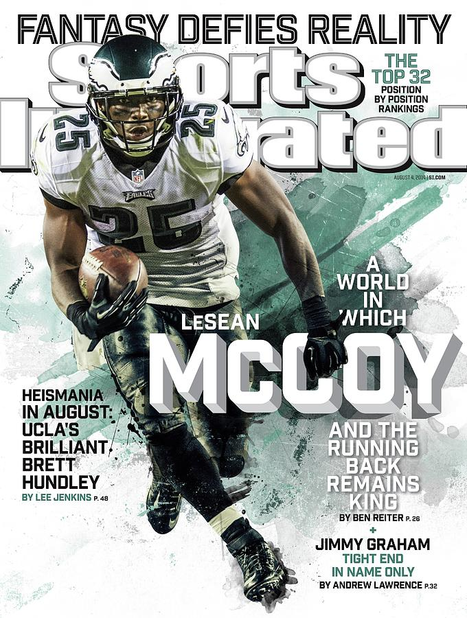 Fantasy Defies Reality A World In Which Lesean Mccoy And Sports Illustrated Cover Photograph by Sports Illustrated