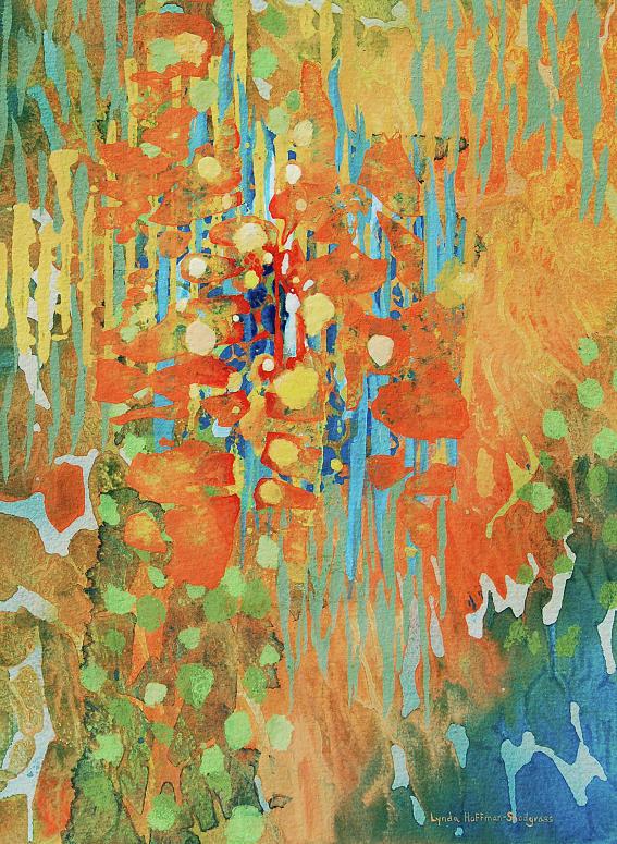 Fantasy Floral by Lynda Hoffman-Snodgrass