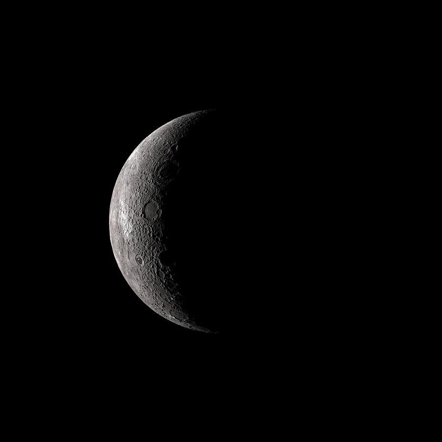 Moon Digital Art - Far Side Of The Moon by Nick Stevens