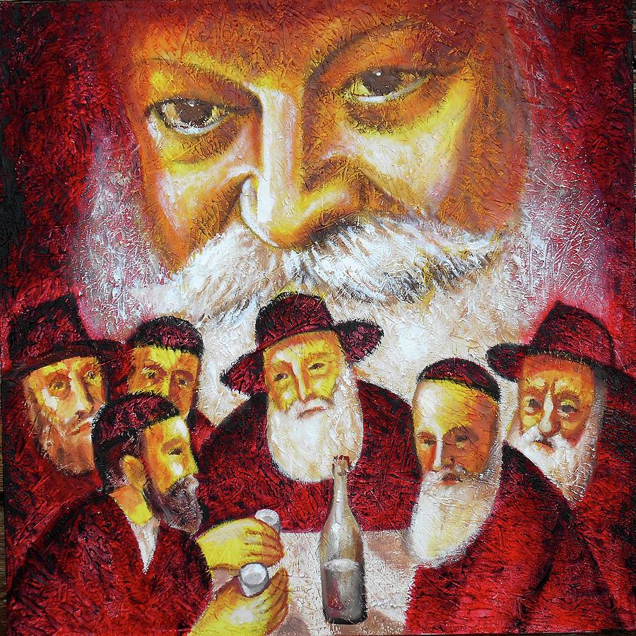 Farbrengen with the Rebbe by Leon Zernitsky