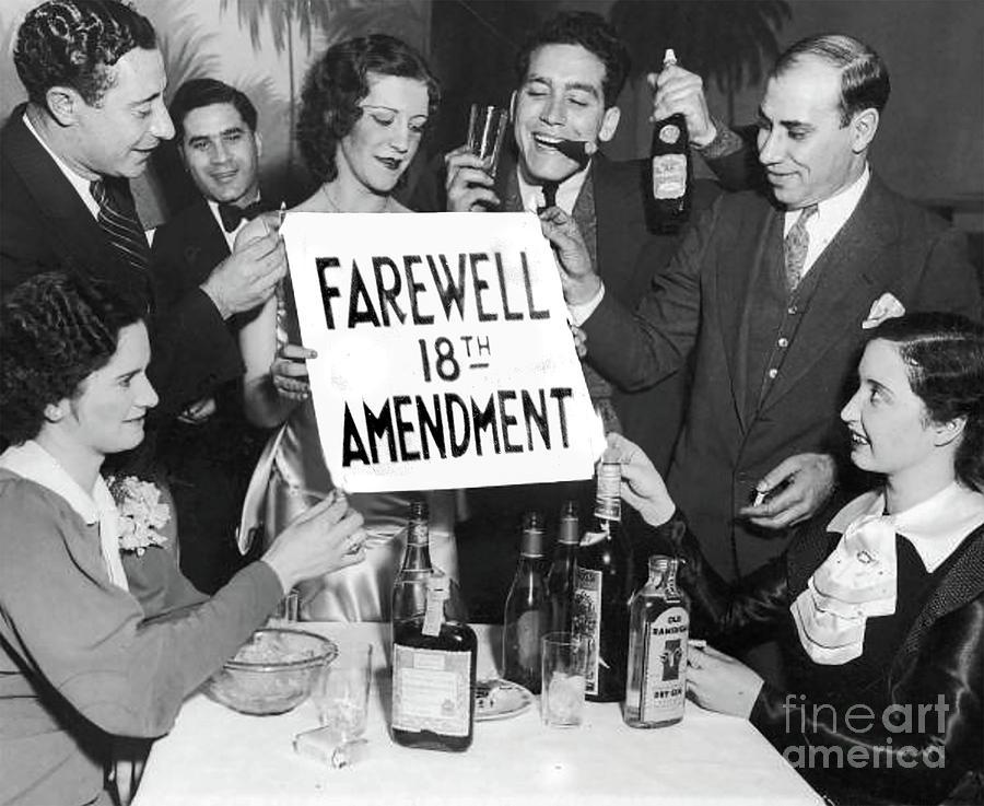 Prohibition Photograph - Farewell 18th Amendment by Jon Neidert