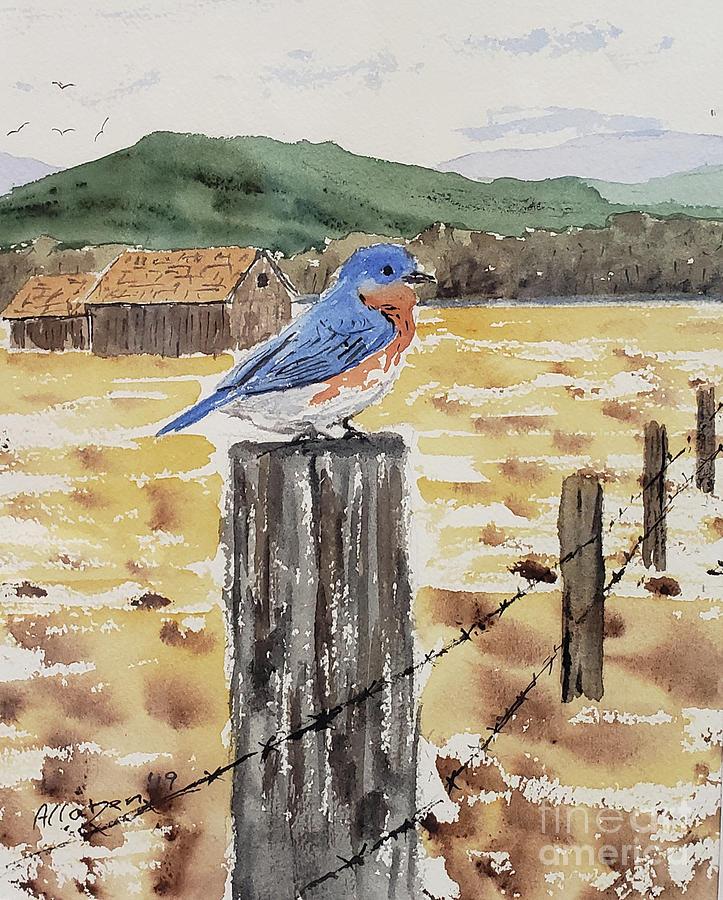 Farm Bluebird by Stanton Allaben
