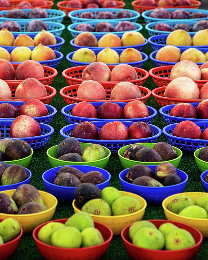 Farm Fresh Fruit by Peter Tellone