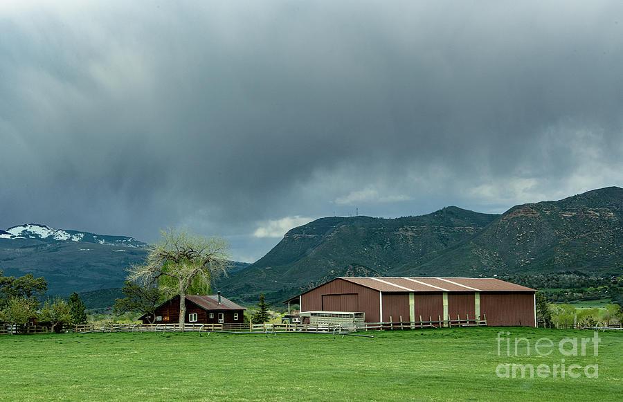 Farm House Photograph - Farm House by Mae Wertz