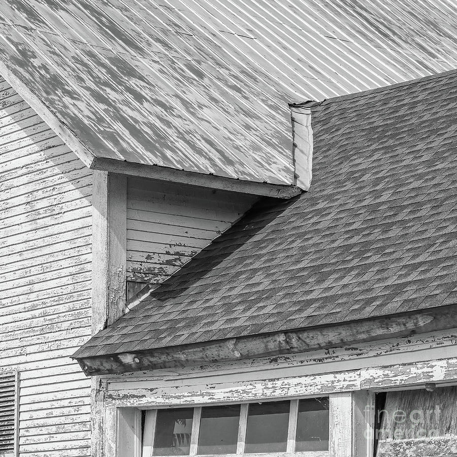 Farm House Roof Lines New Topographics by Edward Fielding