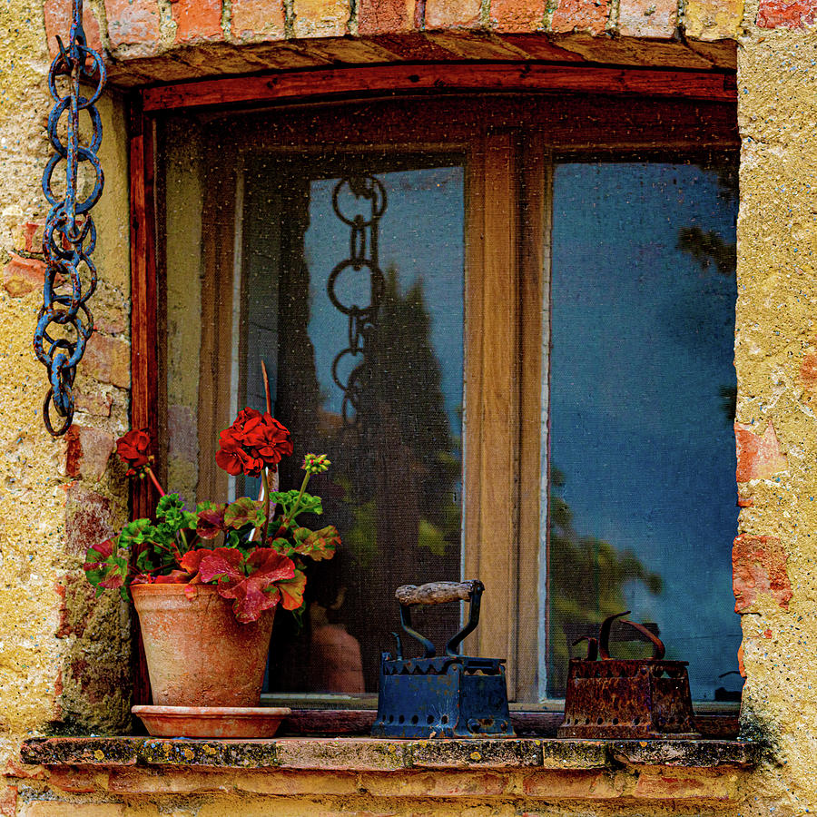 Farm House Window by Chris Lord
