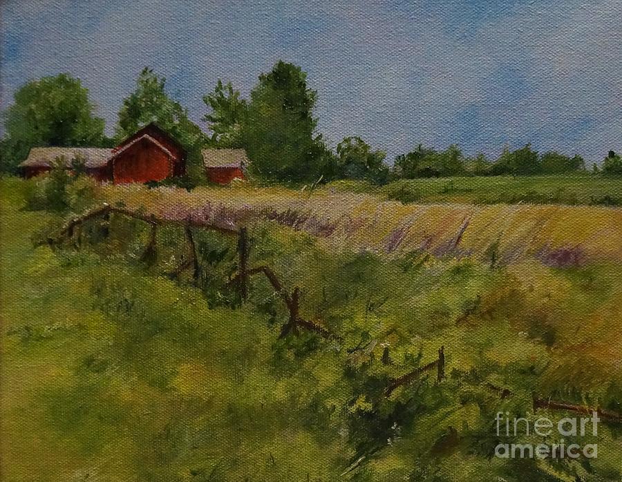 Farm in Saratoga, New York by Barbara Moak