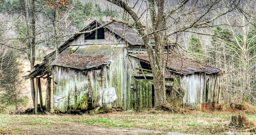 Farm Outbuilding In Less than Perfect Condition by Douglas Barnett