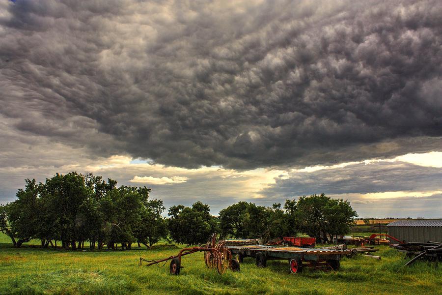 farm  sky by David Matthews
