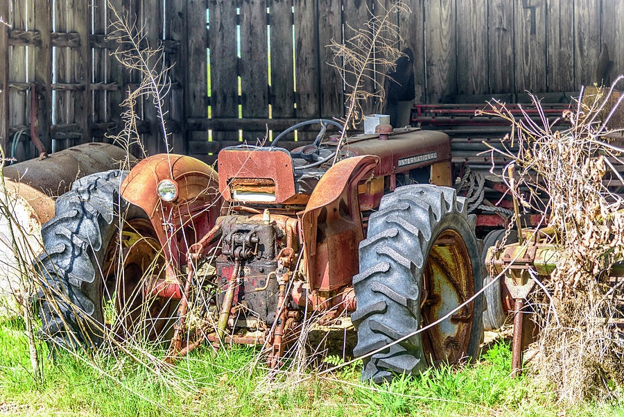 Farm Tractor #3140 by Susan Yerry