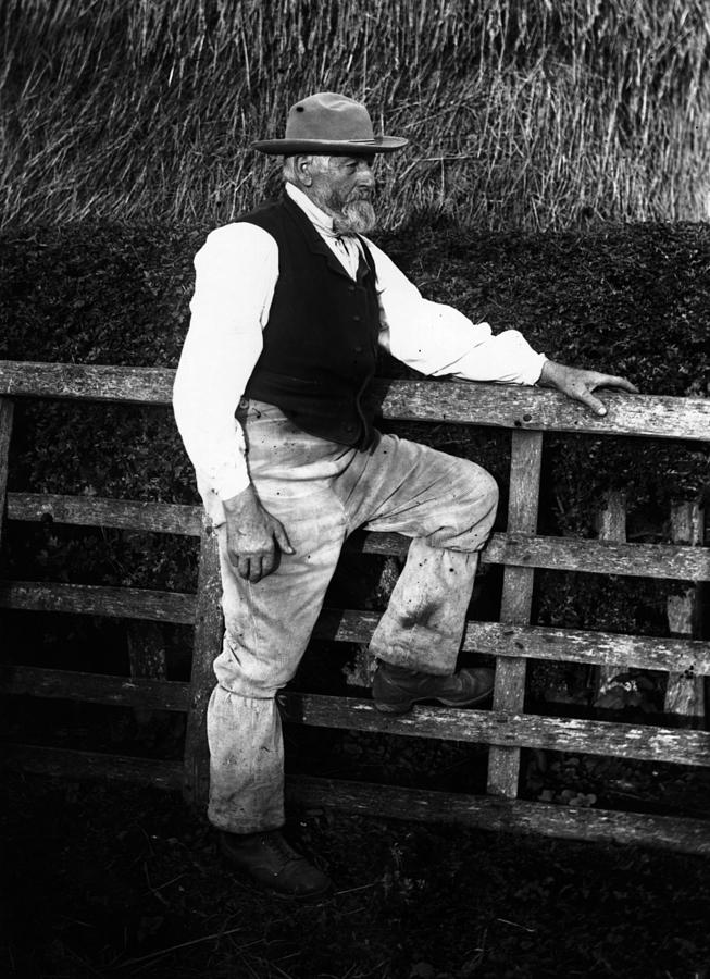 Farm Worker Photograph by F. J. Mortimer