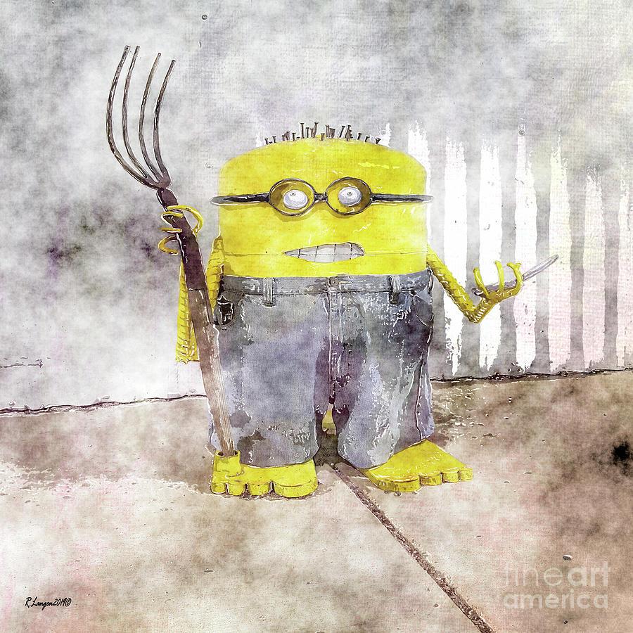 Farmer Bob Minion by Rebecca Langen